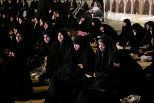 گزارش تصویری شب دوم نشست معنوی اسرار حج و آداب حضور