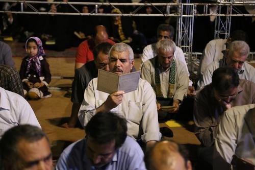 گزارش تصویری شب چهارم نشست معنوی اسرار حج و آداب حضور